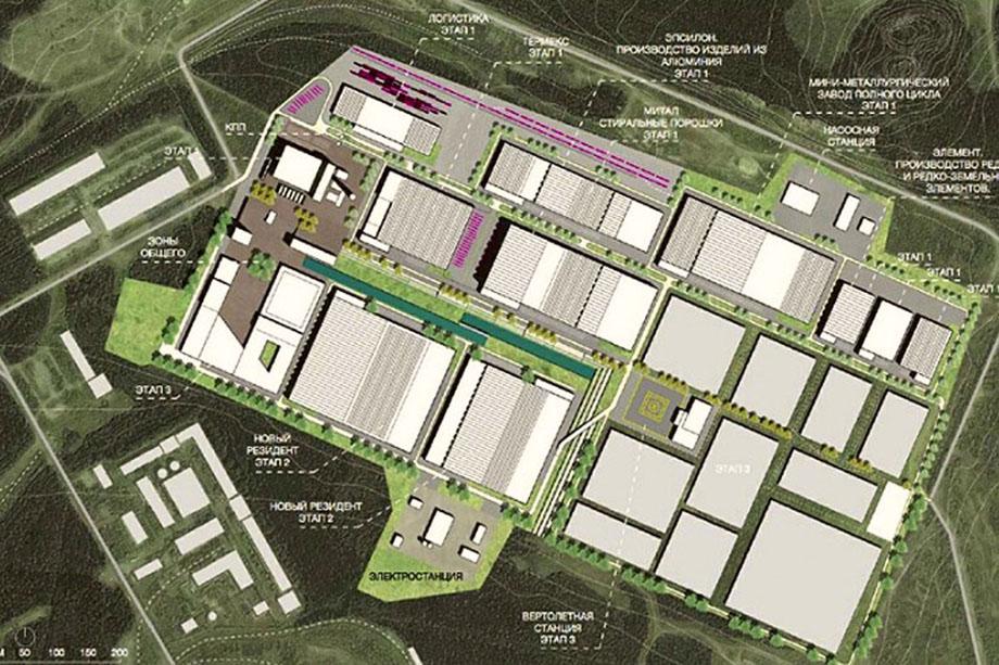 Проект индустриального парка «Богословский».
