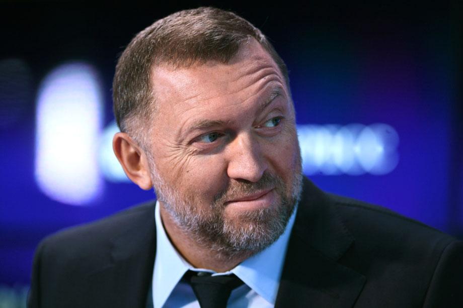 Олег Дерипаска, президент компании «РУСАЛ».