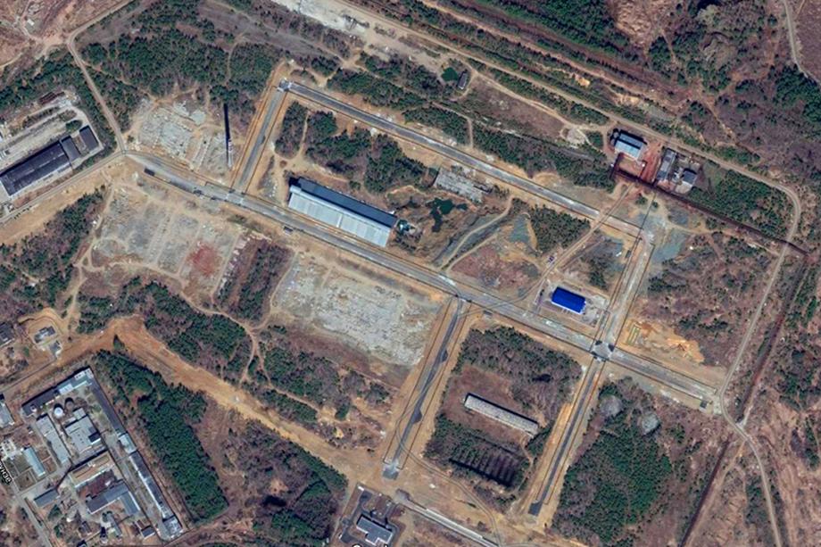 Территория индустриального парка «Богословский» со спутника Google Maps на данный момент. Найдите 10 отличий с фотографией проекта выше.