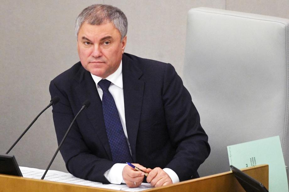 Вячеслав Володин. Валерий Радаев входит в пул так называемых «володинских» губернаторов.
