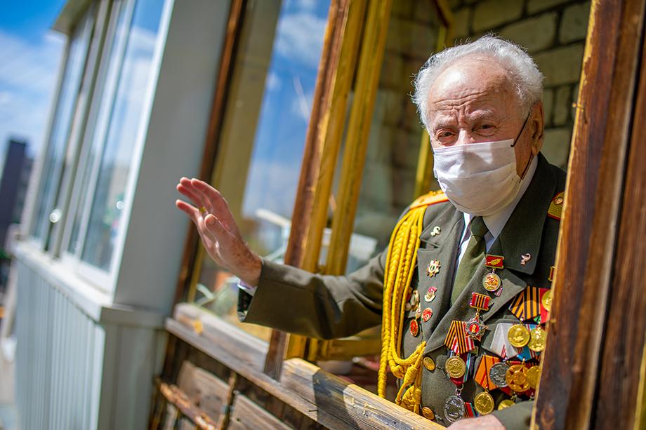 Ветеран Владимир Эккельман.