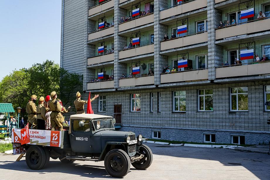 Праздник для ветеранов, Новосибирск