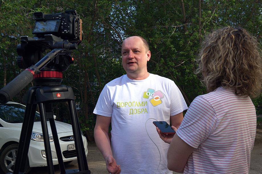 Координатор акции «Бессмертный полк» в Свердловской области Валерий Басай.