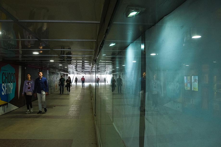 Подземный переход на ул. Вайнера.