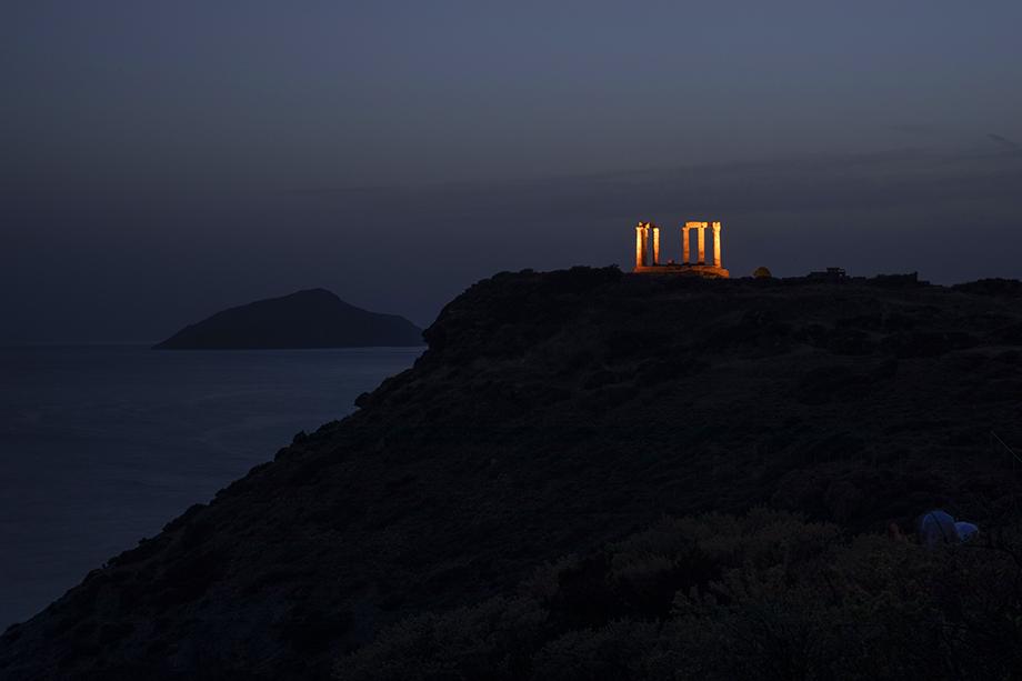 Храм Посейдона в Афинах.