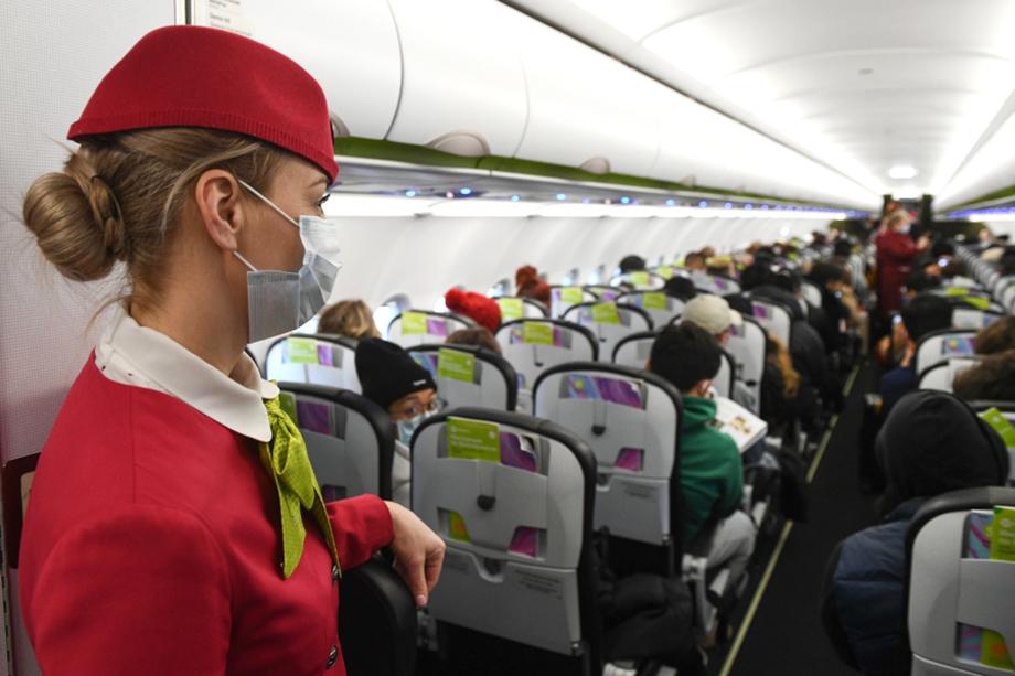 Отмена санитарных ограничений при перевозке на самолётах предполагает три этапа.