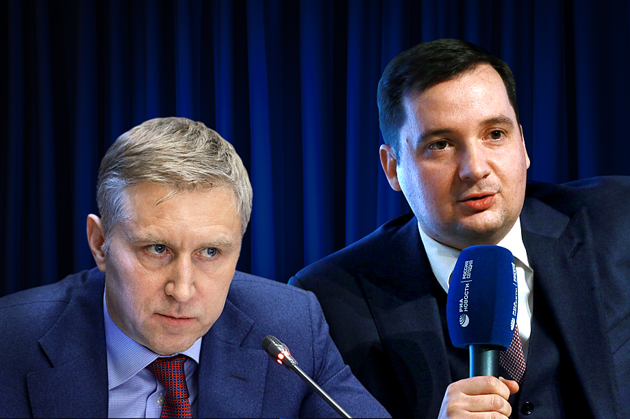 Цыбульский (справа) и Бездудный (слева) поставили под угрозу проект создания макрорегиона, куда должны войти три региона: Архангельская область, НАО и Республика Коми.