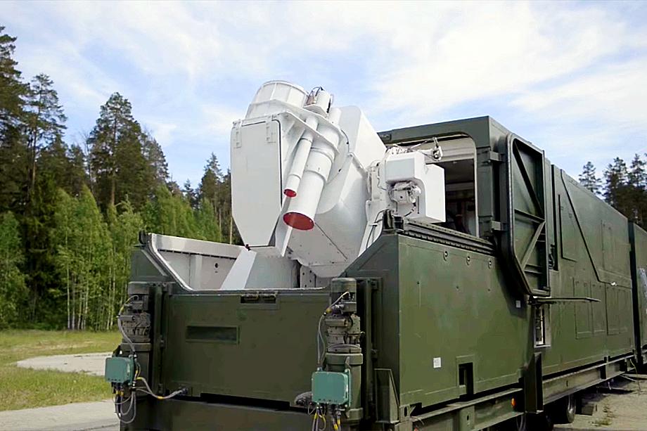 Комплекс российского лазерного оружия «Пересвет».