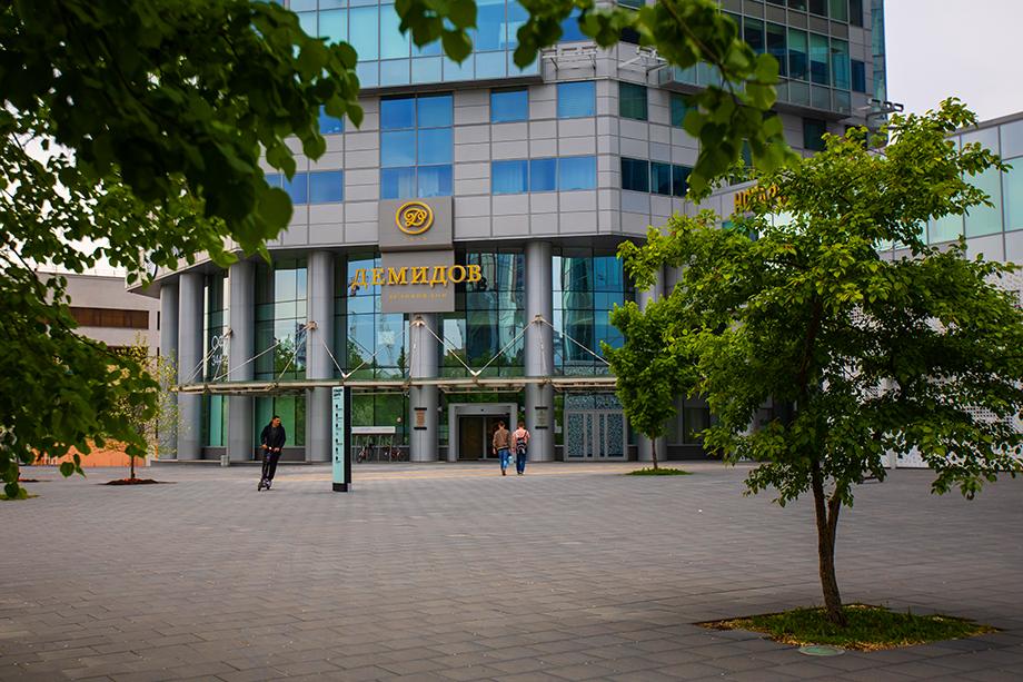 Владельцы БЦ «Демидов» не жалуются на кризис: большинство их арендаторов – надёжные и стабильные компании.