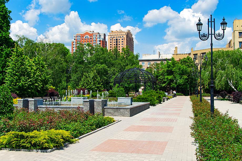 Донецк выглядит как современный европейский город.