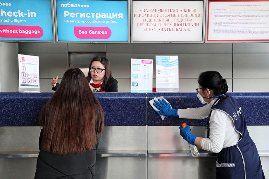 Возвращаться к обычному режиму работы Внуково будет в три этапа.