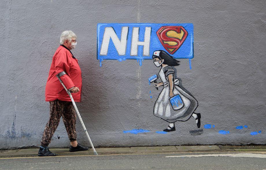 Граффити в Великобритании.