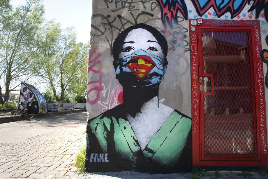13.Граффити в Нидерландах.