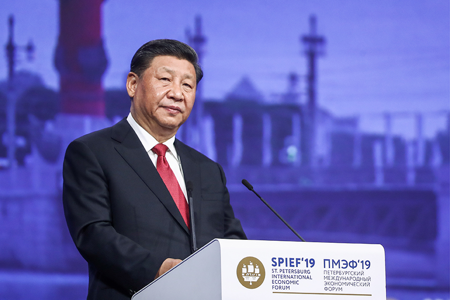 Из выступления председателя КНР Си Цзиньпина на ПМЭФ: «Нельзя, рассердившись на блох, кинуть всю шубу в печь».