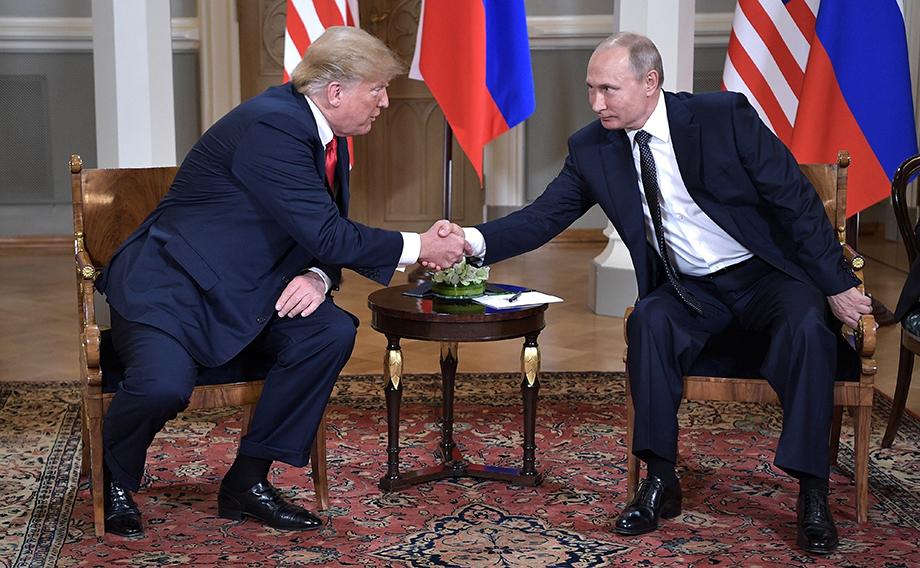 «США vs Россия», но «Трамп + Путин».