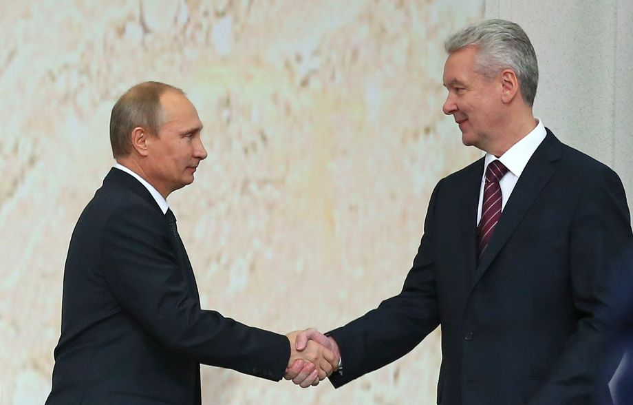 Церемония инаугурации Сергея Собянина. 2013 год.