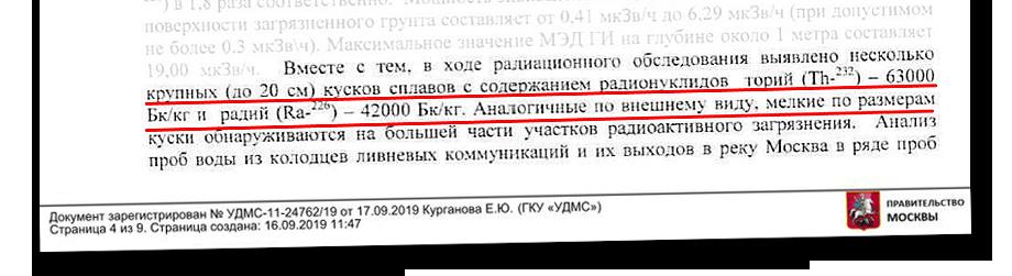 Цифры замеров из Государственного доклада о состоянии санитарно-эпидемиологического благополучия населения в городе Москве. 2017 год.