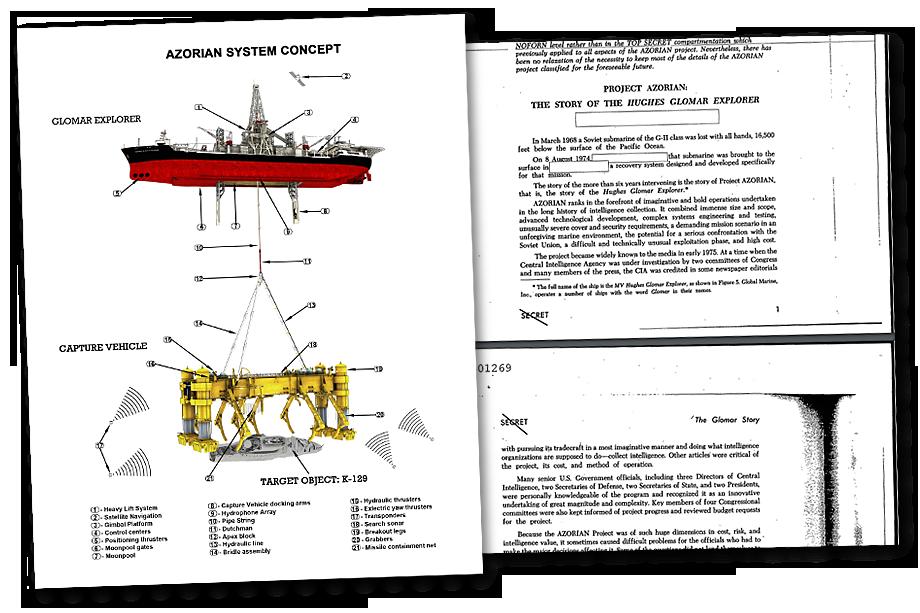 Рассекреченные документы по операции «Азориан».