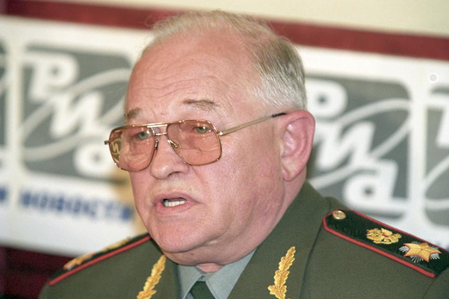Игорь Сергеев, министр обороны Российской Федерации с 1997 по 2001 год.