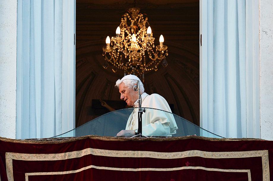 Бывший Папа Римский Бенедикт XVI.