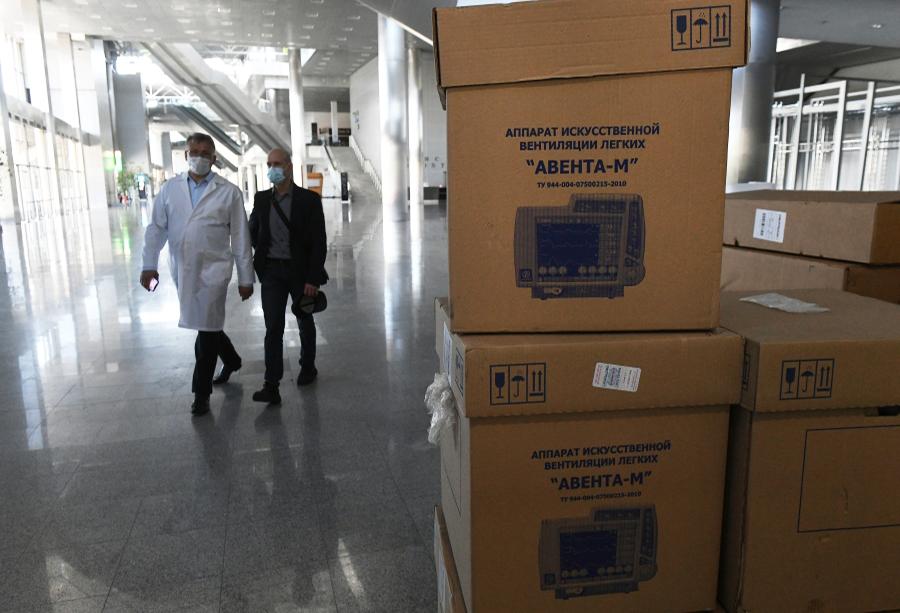 В настоящее время проводятся дополнительные проверки аппаратов ИВЛ «Авента-М».