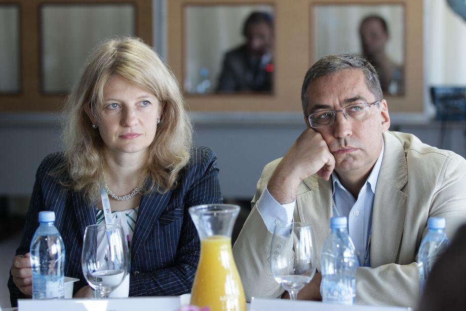 Наталья Касперская и Игорь Ашманов.