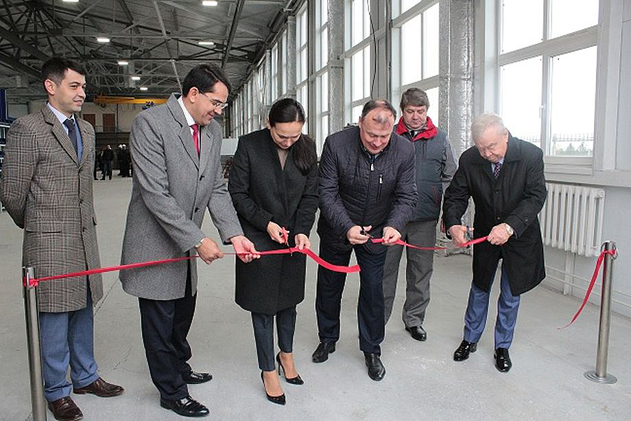Церемония открытия бизнес-инкубатора на территории «Богословского». 2018 год.