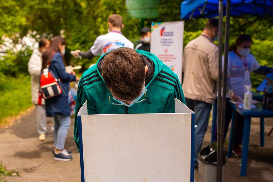 В ЦИК озвучили первые данные по явке на голосование