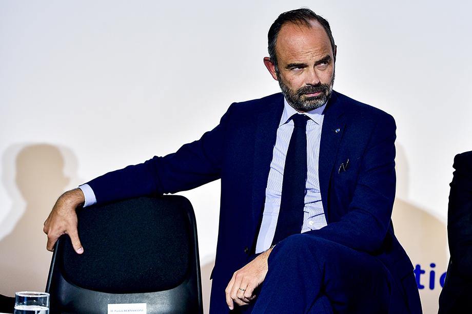 Эдуар Филипп занял пост главы правительства в 2017 году.