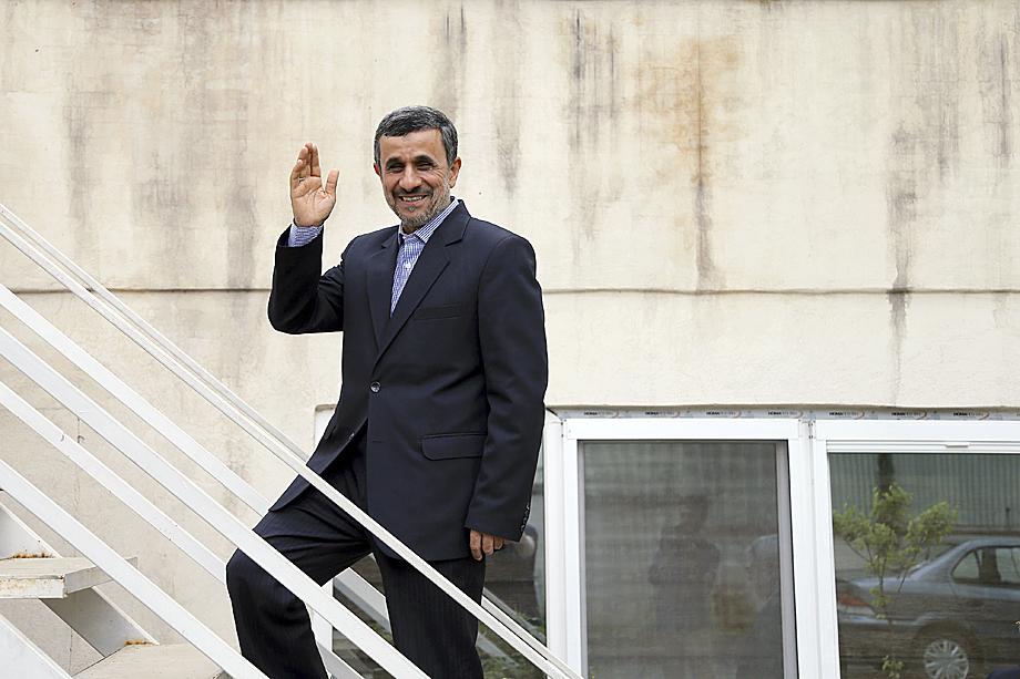 Махмуд Ахмадинежад, экс-глава Ирана, тоже был персоной нон-грата в США.