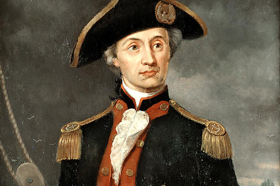 Адмирал Джон Пол Джонс.