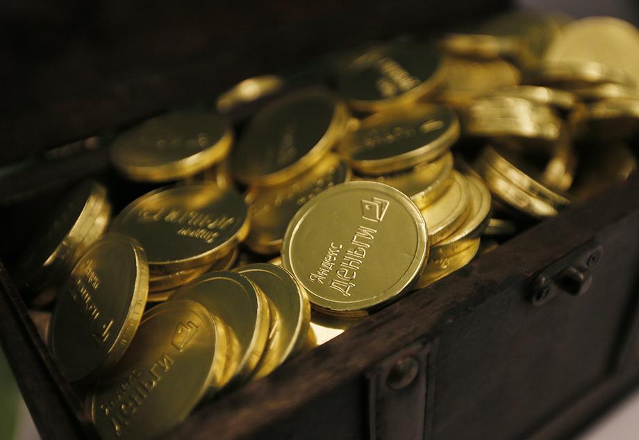 «Яндекс.Деньги» существуют офлайн только в виде приветственных шоколадок в офисе «Яндекс».