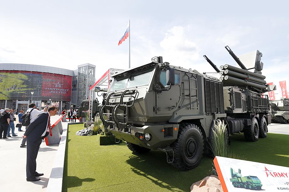 Впервые «Панцирь-СМ» был показан широкой публике на военно-техническом форуме «Армия-2019».
