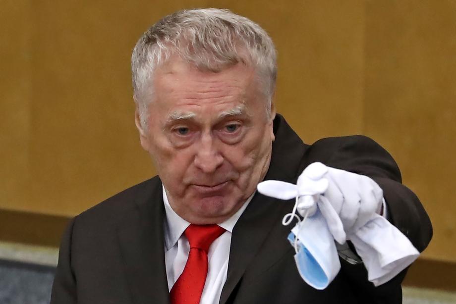 Тон Владимира Жириновского был самым некомплементарным: его не устроило, что премьер  мало внимания уделил политической составляющей.