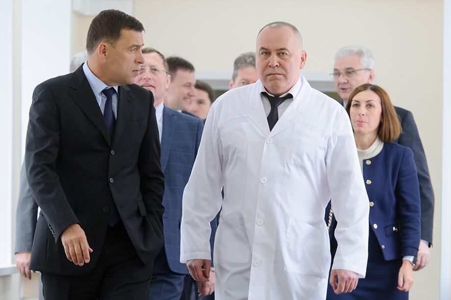 Андрей Карлов официально возглавил свердловский минздрав.