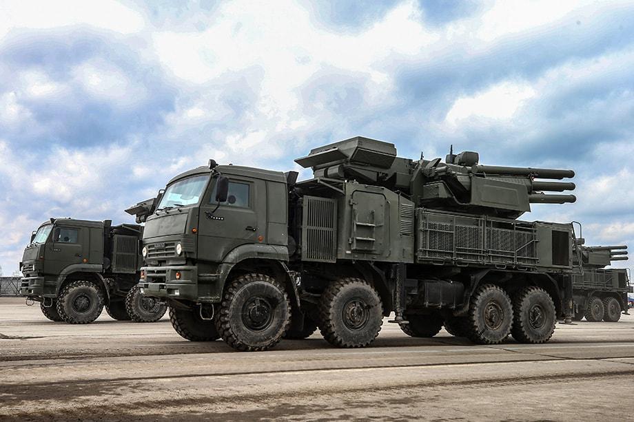 На вооружении армии Ирака находится российский «Панцирь».