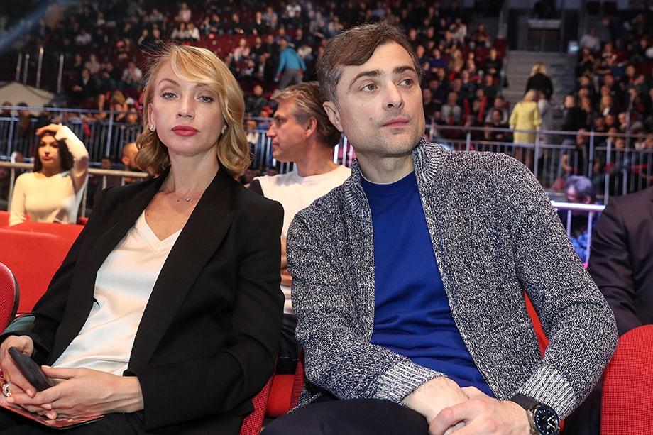 Наталья Дубовицкая и Владислав Сурков.