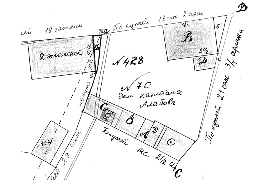 «Ни 4 и ни 6, белое пятно на карте города, юридический ребус, распутывать который ради нескольких треугольных квадратных метров серьёзные люди не станут, а холостяки-миниатюристы ни в жизнь не справятся».