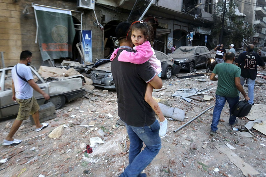 Накануне в Бейруте прогремел мощный взрыв, в результате которого погибли десятки человек, более четырёх тысяч получили ранения.