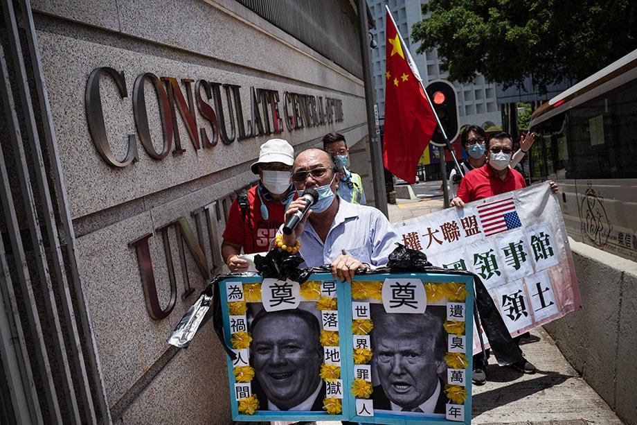 Отношения между США и Китаем уже близки к холодной войне.