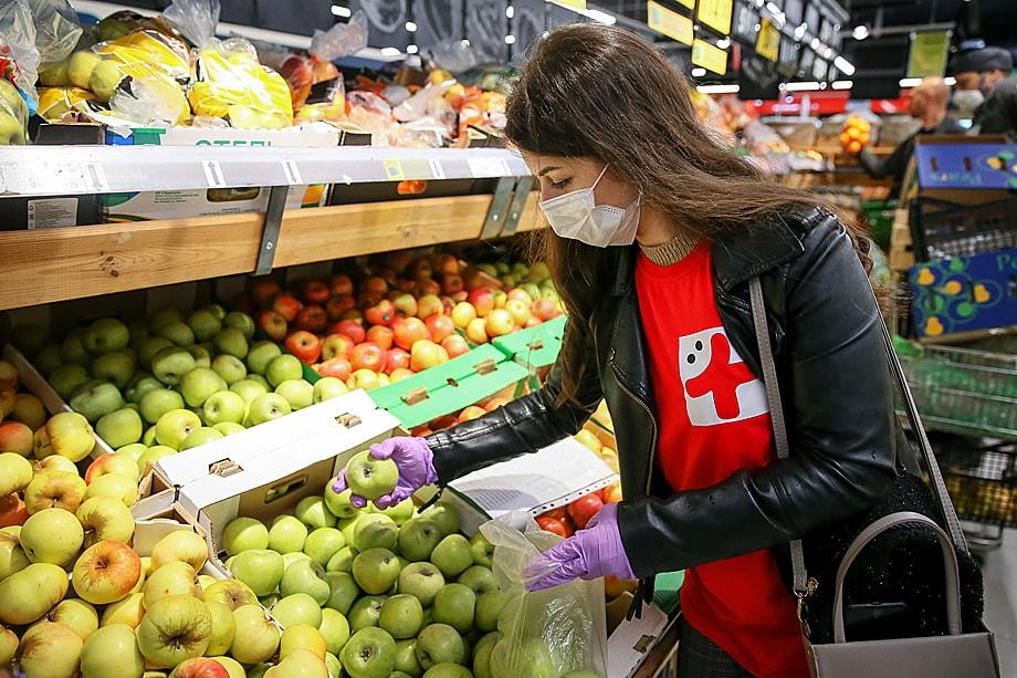 …и как следствие – рост цен на яблоки.