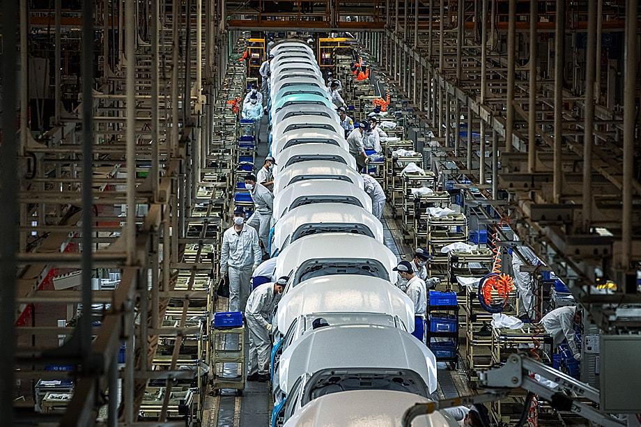 Китай подминает под себя целые сектора мирового рынка, причём достаточно доходные.