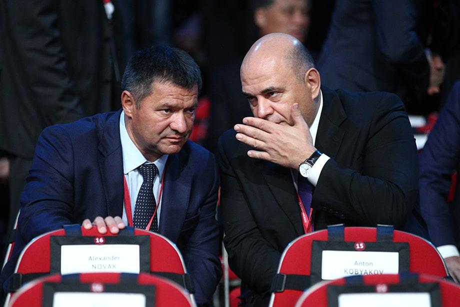 Андрей Тарасенко (слева) получил пост главы Якутии по инициативе Михаила Мишустина (справа). Это «звоночек» для Юрия Трутнева – решение было принято в обход него.