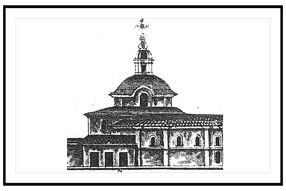 Чертёж 1784 года.