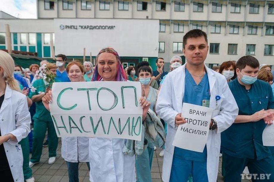 Минские врачи возмущены жестокостью силовиков.