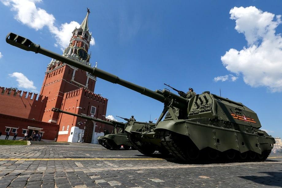 «Коалиция-СВ» – по сути более продвинутая модификация самоходной артиллерийской установки 2С19 «Мста-С» (на фото).