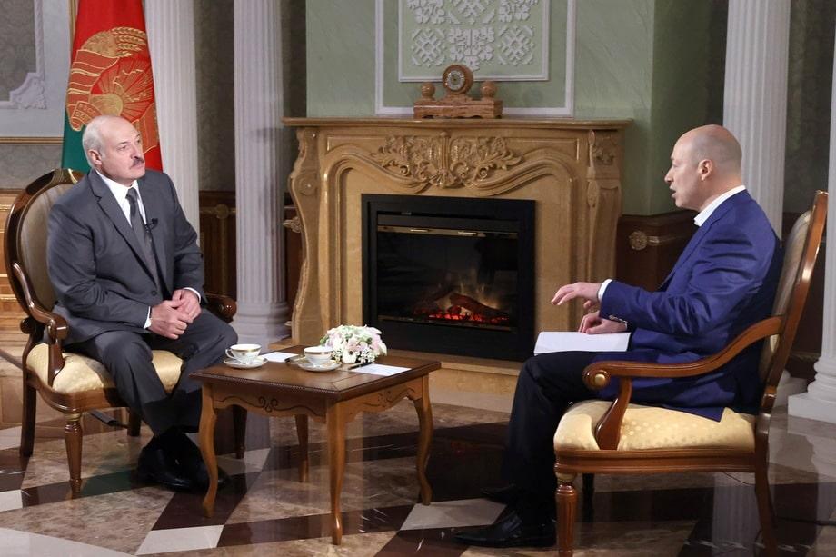 Открытый вызов России Лукашенко бросил, дав интервью украинскому журналисту Гордону.