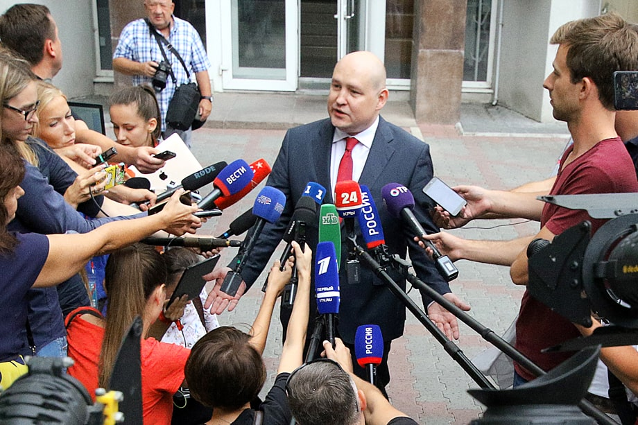 Действующие лица. Любимец публики и действующий врио губернатора – Михаил Развожаев.