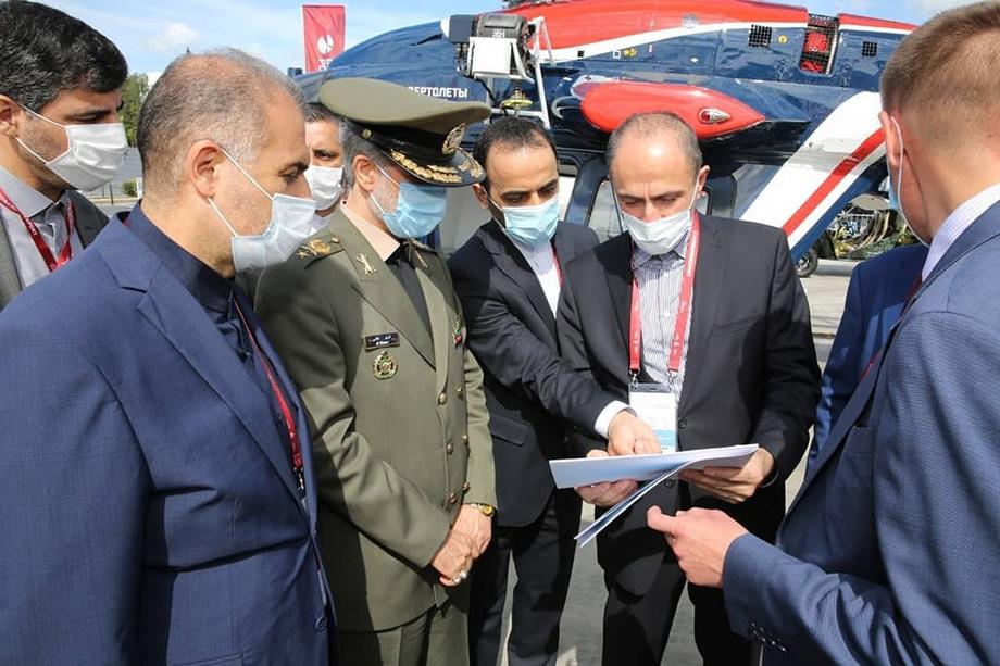 «Отношения между Ираном и Россией находятся на хорошем уровне во всех областях, особенно в области безопасности и обороны».