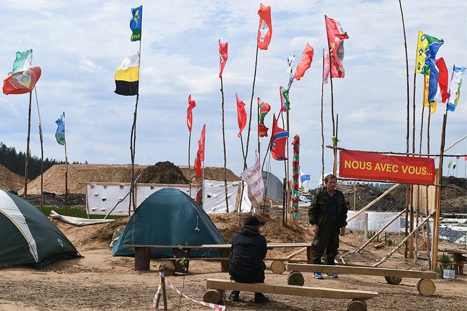 Земли у станции Шиес будут рекультивированы и получат статус населённых пунктов, что исключает строительство промышленных объектов.